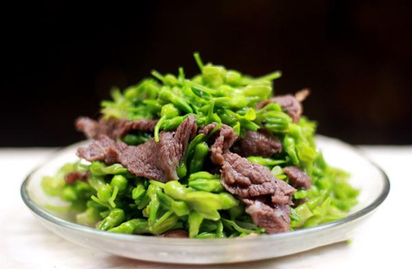 Bò né hoa thiên lý - món ngon từ thịt bò xay