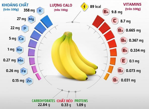Với hàm lượng chất dinh dưỡng dồi dào, chuối là loại trái cây phổ biến, giá thành rẻ nhưng lại mang tới rất nhiều lợi ích cho con người.