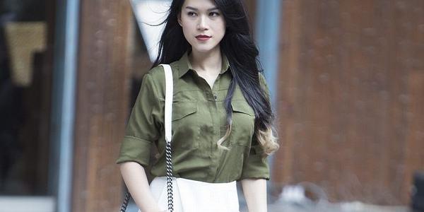 Áo màu xanh rêu kết hợp với quần màu gì thì đẹp – Cách phối đồ màu xanh rêu