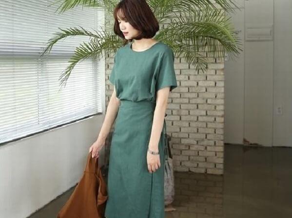 Bạn có thích set đồ này không nào? – Cách phối đồ – Màu xanh rêu kết hợp với màu nào đẹp