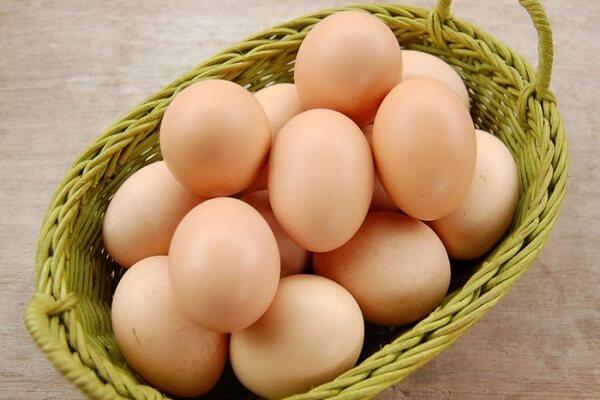Trứng gà: 4 5 quả