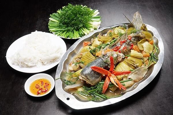 Cá chép om dưa - món ngon chế biến từ cá chép