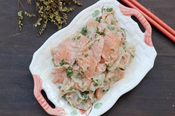 Cá hồi tẩm gia vị - món ngon chế biến từ cá hồi khác