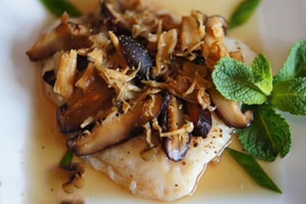 Cá hồi hấp nấm - món ngon từ cá hồi