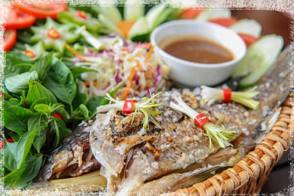 Cá nướng kiểu Lào - Các món cá đãi tiệc, món ngon từ cá đơn giản dễ làm