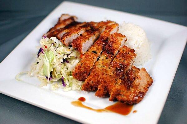 Thịt heo chiên xù kiểu Nhật