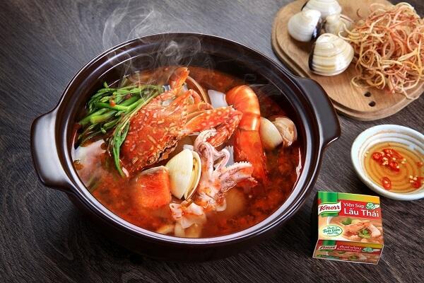 Lẩu Thái hải sản - Danh sách các món lẩu đãi tiệc đơn giản: tiệc cưới, tiệc tân gia…