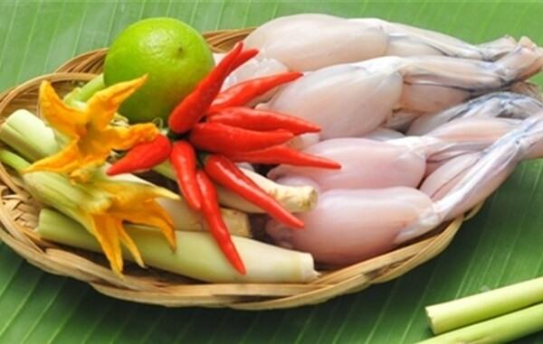 Giá trị dinh dưỡng của thịt ếch giúp tăng cân, tăng cơ