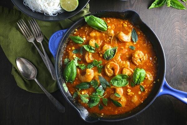 Món 2. Tôm cà ri - các món tôm ngon
