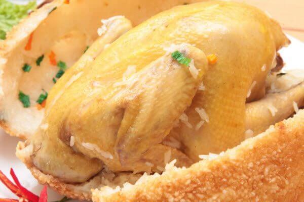 Gà bó xôi trở thành món ăn yêu thích của nhiều người