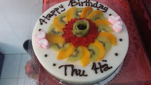 Cách làm bánh kem sinh nhật bằng rau câu đơn giản tại nhà