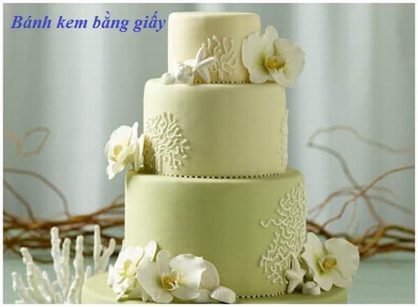 Cách làm bánh kem sinh nhật bằng giấy đơn giản cực đẹp và đầy ý nghĩa