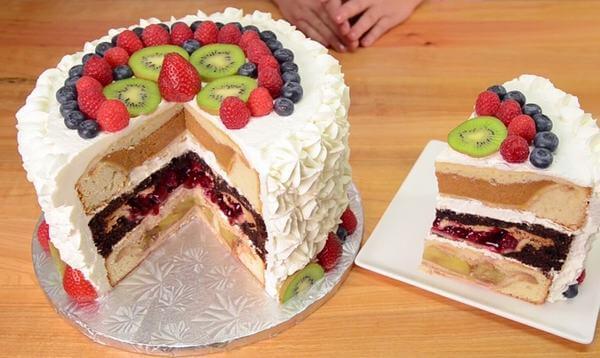 Cách làm bánh kem sinh nhật bằng nồi cơm điện đơn giản tại nhà