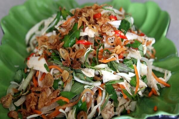 Cách làm gỏi gà bắp cải ngon giòn đậm đà khẩu vị ẩm thực Việt