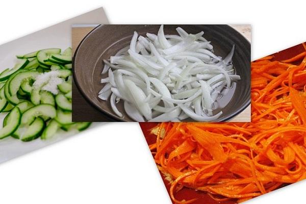 Hành tây: Bạn rửa sạch, gọt vỏ, thái thành lát mỏng