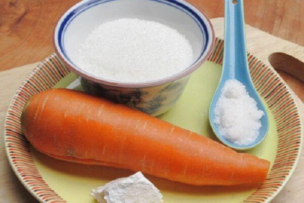Nguyên liệu cần chuẩn bị để làm mứt cà rốt ngon