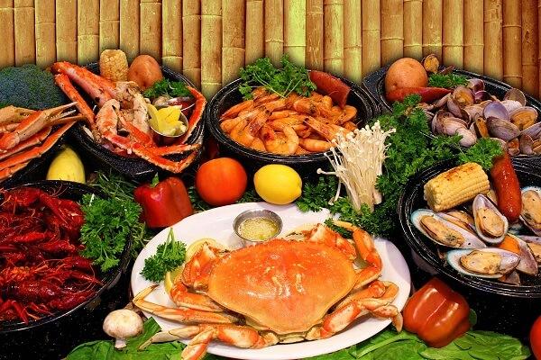 Nguyên liệu nấu lẩu Thái bằng gói gia vịaji quick