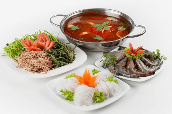 Cách nấu lẩu Thái bằng gói gia vị aji quick thơm ngon đơn giản