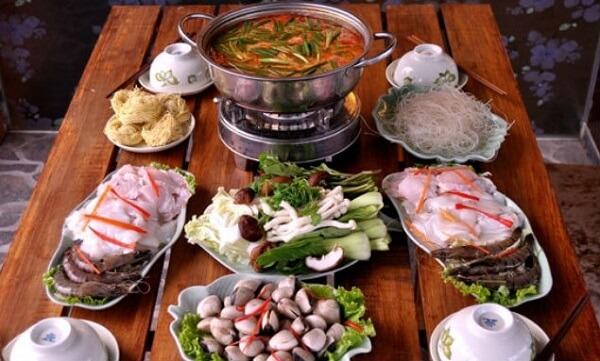 Công thức nấu lẩu Thái cho 10 người ăn đãi tiệc