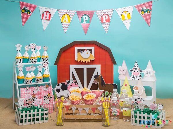 Cách trang trí sinh nhật tại nhà bằng bong bóng cho bé trai
