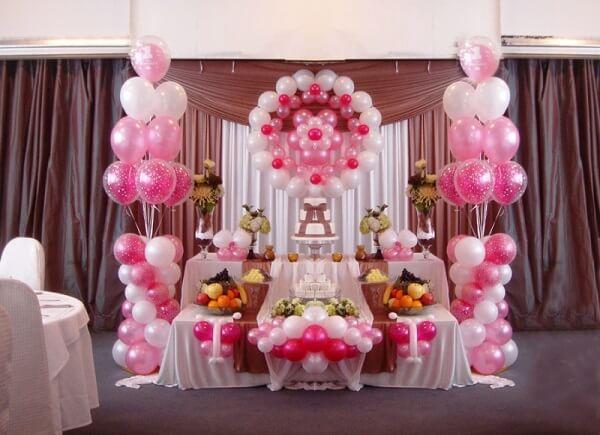 Trang trí sinh nhật bằng bóng bay chủ đề công chúa đẹp dễ thương