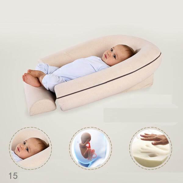Cách tự làm gối chống trào ngược cho trẻ sơ sinh, trẻ nhỏ tại nhà