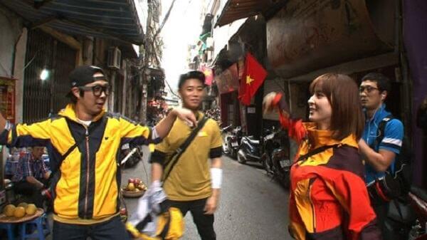 Running Man được các fan chào đón nồng nhiệt tại Hà Nội - Danh sách khách mời Running man 2017 2018 mới nhất
