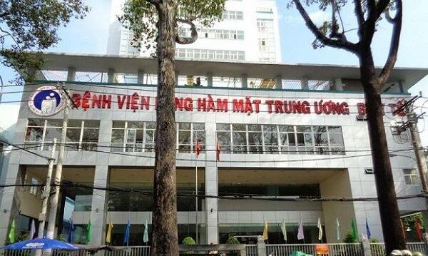 Bảng giá, địa chỉ Bệnh viện Răng hàm mặt Trung Ương Nguyễn Chí Thanh quận 5 Tphcm