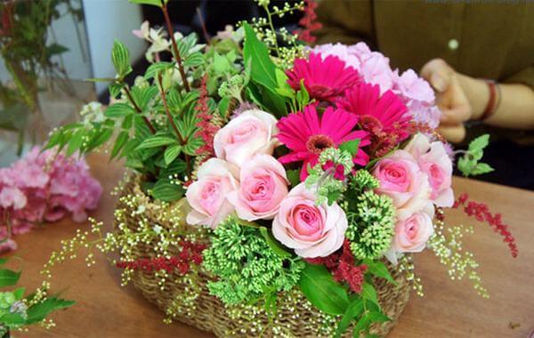 Những lẵng hoa đẹp không thể thiếu trong ngày sinh nhật - Hình ảnh những bó hoa sinh nhật đẹp nhất thế giới, độc đáo ý nghĩa bằng tiền, đô la
