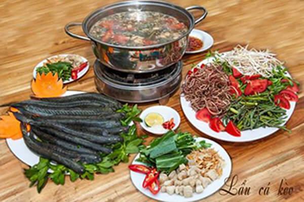 Lẩu cá kèo là món ăn mang đậm hương vị đặc trưng của miền Nam.
