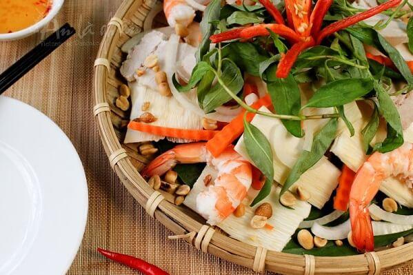 Gỏi củ hũ dừa ngó sen tôm thịt thơm ngon hấp dẫn cho món khai vị - món ngon đãi tiệc dễ làm