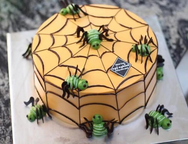 Chiếc bánh hình con bọ này quả là một lựa chọn không tồi