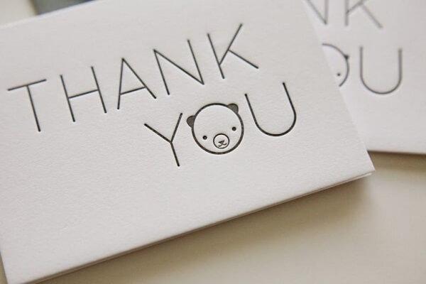 Những câu cảm ơn sinh nhật bằng tiếng Anh, thư cảm ơn, lời cảm ơn sinh nhật bằng tiếng anh ý nghĩa