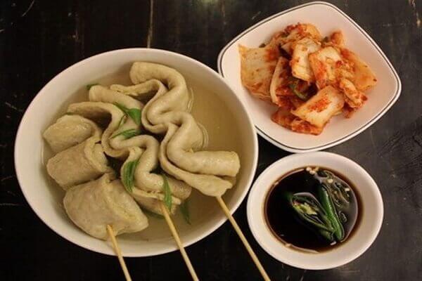 Chả cá xiên Hàn Quốc - kinh doanh đồ ăn vặt mùa đông