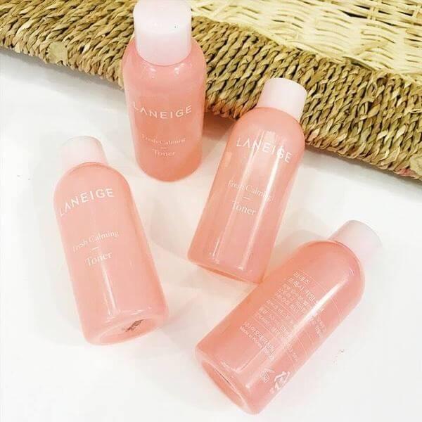 Chăm sóc da dịu nhẹ và mang lại cảm giác thư giãn - Tối ưu hóa việc chăm sóc da và hạn chế kích ứng trên da. Nước cân bằng Laneige Fresh Calming Toner