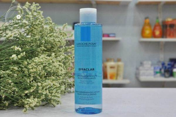 Nước hoa hồng da dầu La Roche Posay Effaclar lotion astringente micro exfoliante làm sạch và se lỗ chân lông cho da dầu.