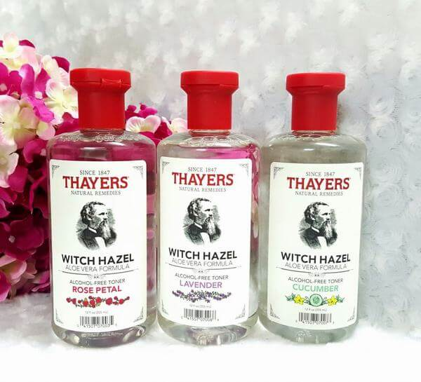Nước Hoa Hồng Không Chứa Cồn Thayers Alcohol Free Witch Hazel Toner Cucumber dành cho nhờn và trị mụn 355ml.