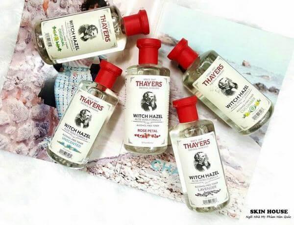 Nước Cân Bằng Da Thayers Alcohol-Free Witch Hazel Toner giúp se nhỏ lỗ chân ... chiết xuất hoàn toàn từ nguồn nguyên liệu thiên nhiên như nước hoa hồng