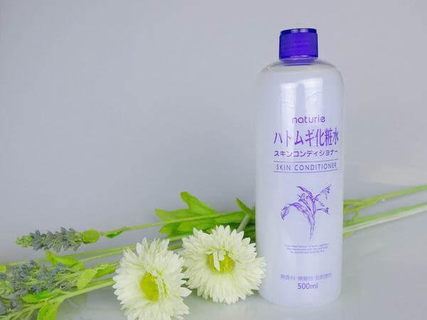 Nước hoa hồng Naturie Hatomugi Skin Conditioner có độ cồn thấp, gần như là ... tổn thương do ánh nắng mặt trời,thoa tonner Naturie Hatomugi sẽ hết đỏ ngay.