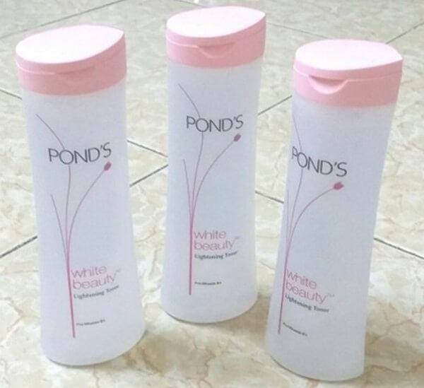 Nước hoa hồng pond's có tốt không, có chứa cồn không?