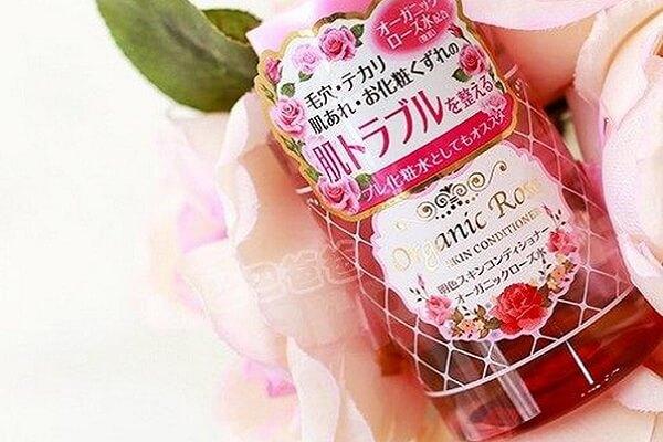 Nước hoa hồng của Nhật cho da nhờn Meishoku Organic Rose Skin Conditioner