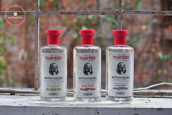 So sánh nước hoa hồng Dickinson và Thayer