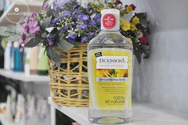 Review nước hoa hồng Dickinson giá bao nhiêu, có tốt không?