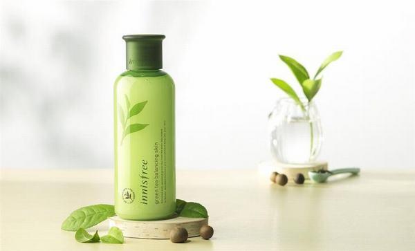 Review nước hoa hồng Innisfree green tea cho da dầu, da mụn, khô
