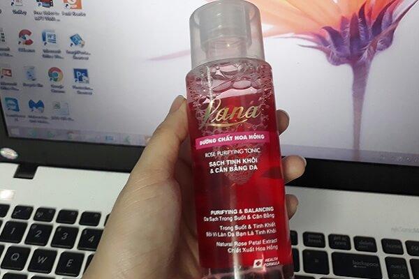 Nước hoa hồng Lana rose purifying tonic dành cho da thường