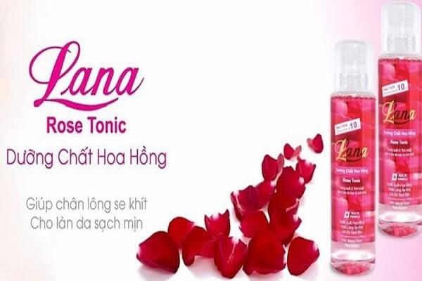 Tổng quan về thương hiệu nước hoa hồng Lana có tốt không?