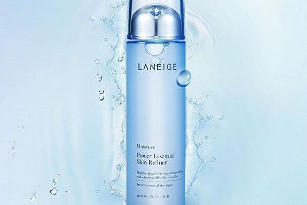 Nước hoa hồng Laneige Power Essential Skin Refiner cho da dầu mụn (chai màu xanh)