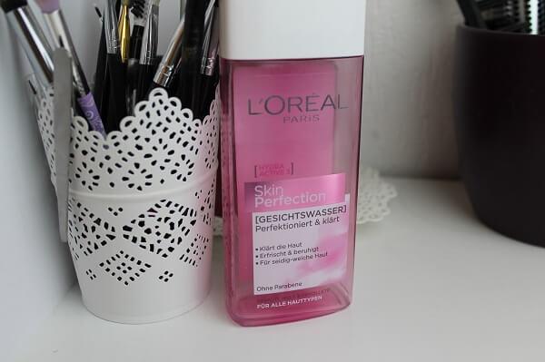 Nước hoa hồng Loreal Skin Perfection Gesichtswasser cho da nhạy cảm