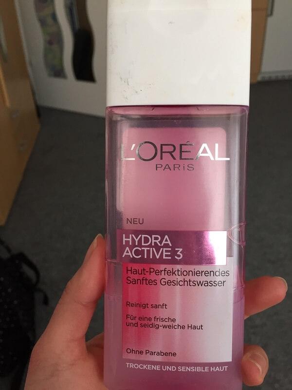 Nước hoa hồng Loreal Hydrafresh cho da khô, nhạy cảm (chai màu trắng)