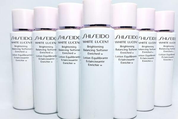 Nước hoa hồng shiseido white lucent dành cho mọi loại da (chai màu trắng)